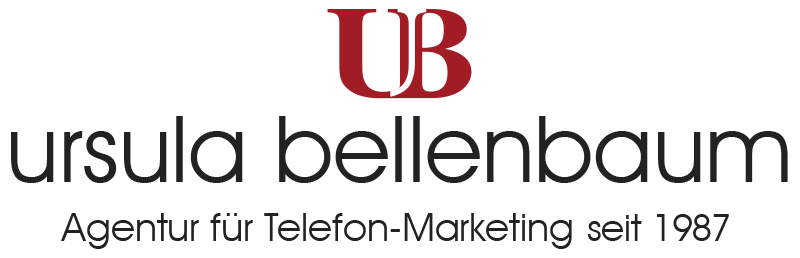 UB - Ursula Bellenbaum Telefon-Marketing seit 1987